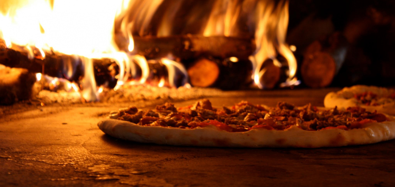 Wood fired pizza delights image