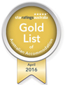 2016 Gold Award Accredited Accommodation